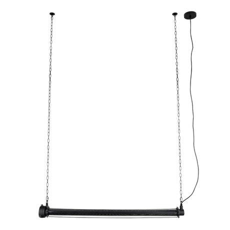 Zuiver Hanglamp Prime XL zwart metaal 130x13,5x200cm