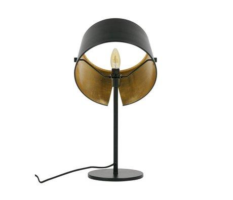 WOOOD Table lamp Pien black metal Ø28x53cm