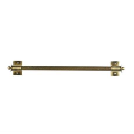 WOOOD Wandrek Pleun brass goud metaal L 63x13x8cm