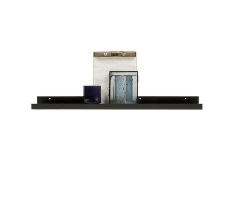 WOOOD Cadre photo cadre Ravi noir métal 80x10x6cm