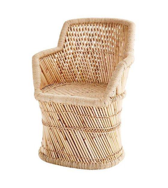 le bambou ne se dmode jamais alors vous le voyez nouveau ce fauteuil de madame stoltz est compltement contemporain mais avec un clin doeil rtro - Fauteuil Bambou