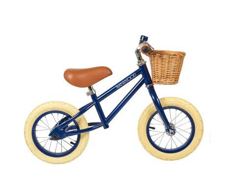 Banwood Vélo de course pour enfants First Go bleu marine 65x20x41cm