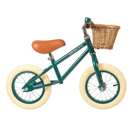 Banwood Children's bike First Go dark green 65x20x41cm