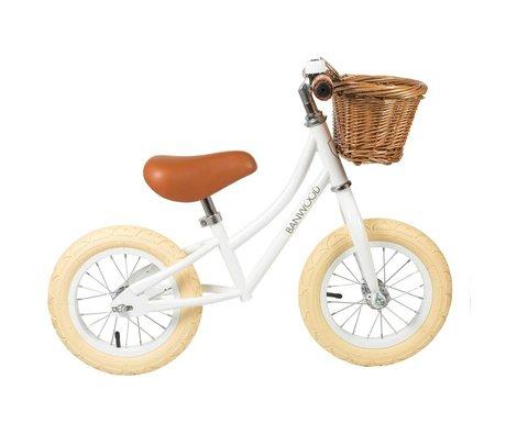 Banwood Vélo d'enfant First Go blanc 65x20x41cm