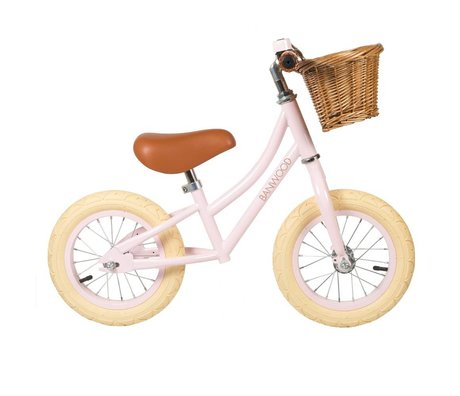 Banwood Children's running bike First Go pink 65x20x41cm