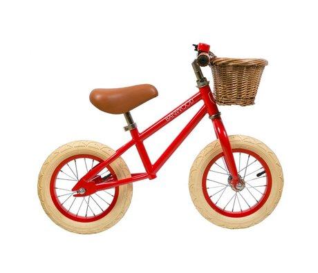 Banwood Kinderloopfiets First Go rood 65x20x41cm
