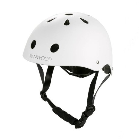 Banwood Cycling helmet child white 24x21x17,5cm