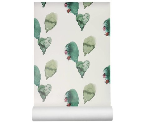 NOFRED Wallpaper Ladybird multicolour non-woven wallpaper 50x62.19cm