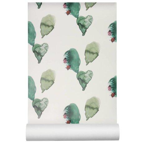 NOFRED Papier peint Coccinelle papier peint intissé multicolore 50x62.19cm