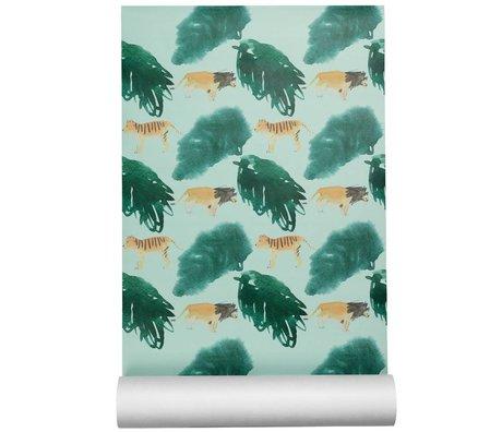 NOFRED Behang Safari multicolour vliesbehang50x62,19cm