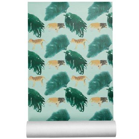 NOFRED Wallpaper Safari multicolour non-woven wallpaper50x62,19cm