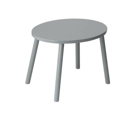 NOFRED Kindertafel Mouse grijs hout 54x39x43,7cm