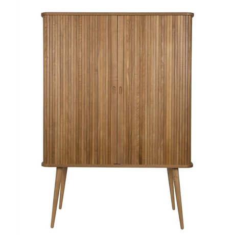 Zuiver Cupboard Barbier natural brown wood 100x45x140cm