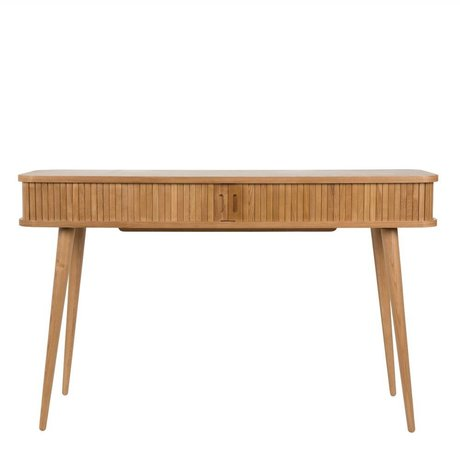 Zuiver Sidetable Barbier Console naturel bruin 120x35x74cm