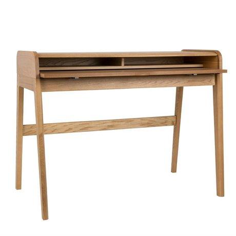 Zuiver Schreibtisch Barbier naturbraun 110x61x85cm