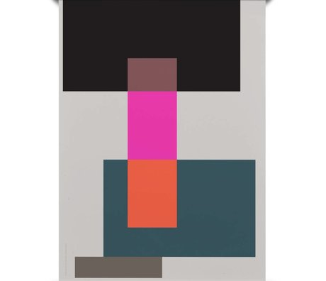 Paper Collective Poster Falsche Geometrie 01 Mehrfarbenpapier 50x70cm
