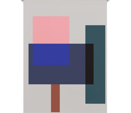 Paper Collective Poster Wrong Geometry 02 papier multicolore 50x70cm