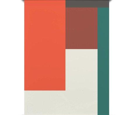 Paper Collective Poster Falsche Geometrie 04 mehrfarbiges Papier 50x70cm