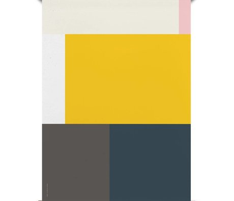 Paper Collective Poster Wrong Geometry 05 papier multicolore 50x70cm