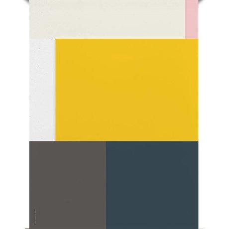 Paper Collective Poster Falsche Geometrie 05 Mehrfarbenpapier 50x70cm