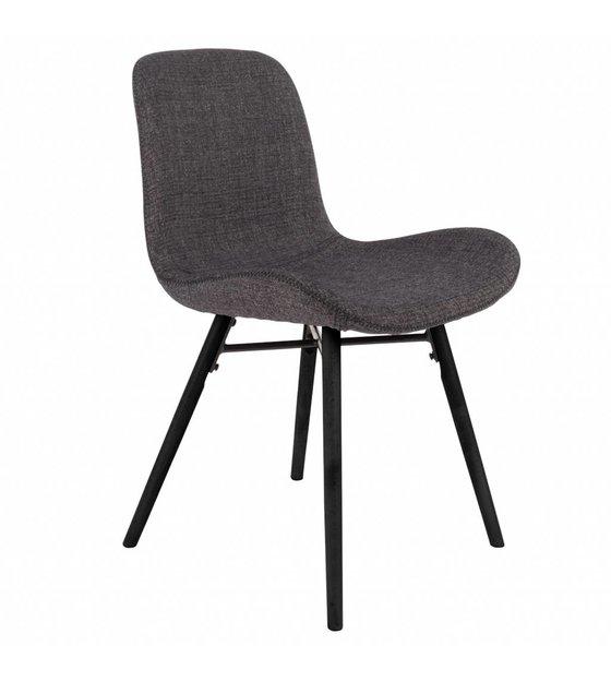 5cm textile bois Chaise gris 50x55x80 anthracite Memphis 35uFTK1cJl