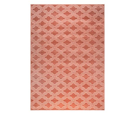 LEF collections Rug Sydney pink textile 160x230cm
