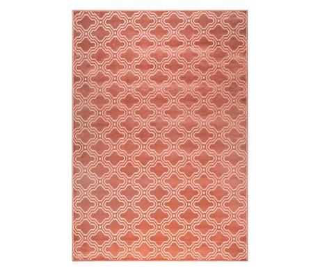 LEF collections Vloerkleed Sydney roze textiel 160x230cm