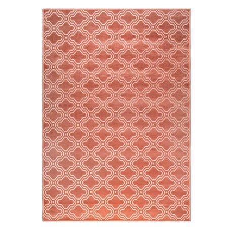 LEF collections Teppich Sydney rosa Textil 160x230cm