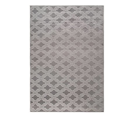 LEF collections Rug Sydney gray textile 160x230cm