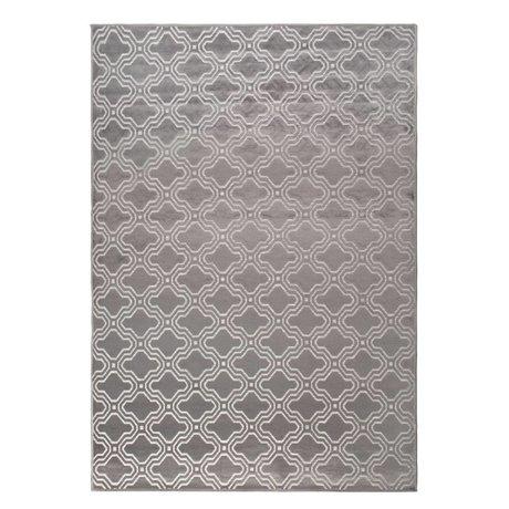 LEF collections Tapis Sydney gris textile 160x230cm