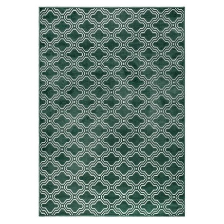 LEF collections Teppich Sydney grün Textil 160x230cm
