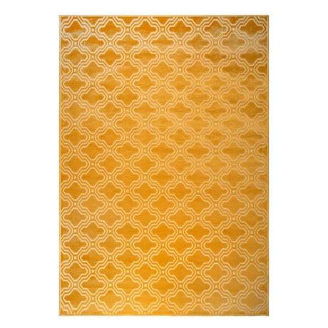 LEF collections Teppich Sydney Ocker gelb Textil 160x230cm