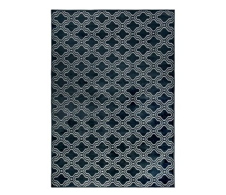 LEF collections Rug Sydney midnight blue textile 160x230cm