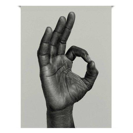 Paper Collective Poster OK zwart off white papier 30x40cm
