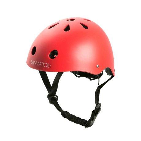 Banwood Casque de vélo enfant rouge 24x21x17,5cm