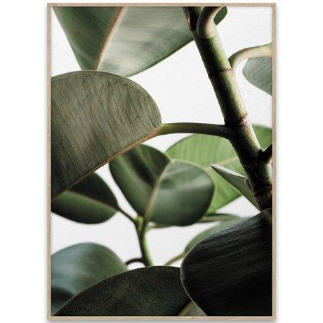 Paper Collective Poster Green Home 03 grün weißes Papier 70x50cm