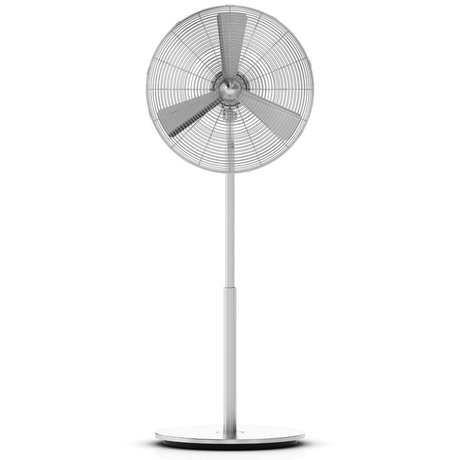 LEF collections Fan Charly Stand silber Aluminium 45x130x40cm