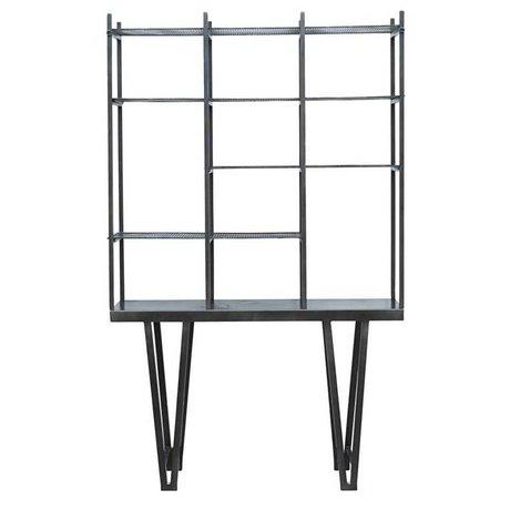 Housedoctor Boîtes Rawi métal noir 130x35x210cm