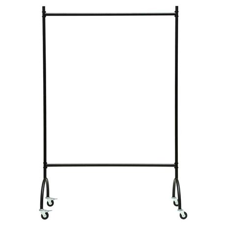 Housedoctor Clothes rack Vaganza black metal 120x45x180cm