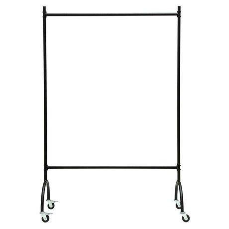 Housedoctor Porte-vêtements Vaganza noir métal 120x45x180cm