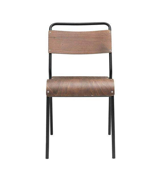 5x41x47cm salle à Chaise brun 41 en Original bois manger de foncé gy6Ybf7v