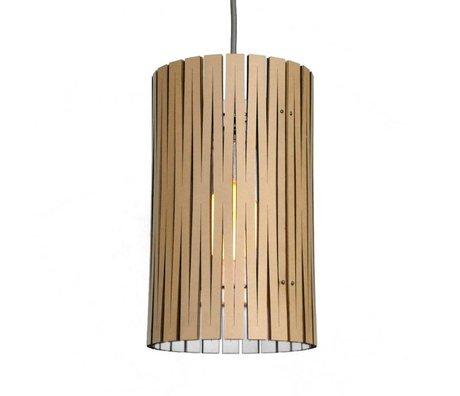 Graypants Hanging lamp Selwyn white cardboard Ø18x32cm