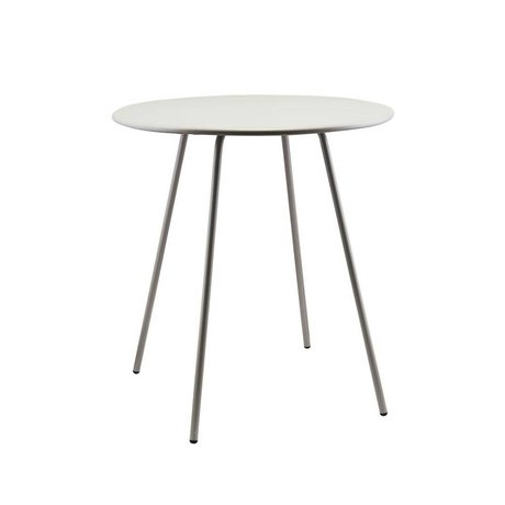 Housedoctor Side table Pi series gray steel Ø70x75cm