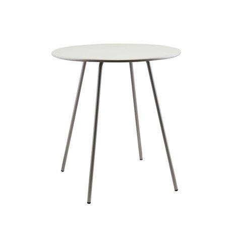 Housedoctor Table d'appoint Pi série acier gris Ø70x75cm