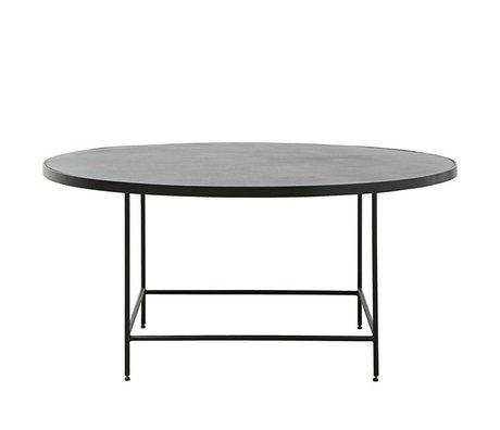 Housedoctor Coffee table Balance black metal Ø100x45cm