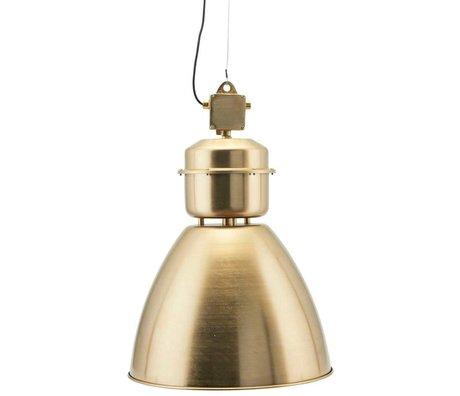 Housedoctor Hanglamp Volumen brass goud metaal L Ø54x60cm