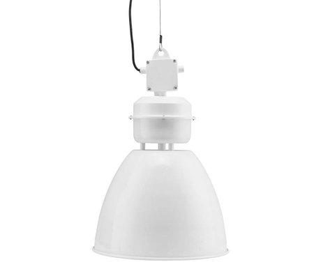 Housedoctor Lampe à suspension Volumen métal blanc S Ø35x60cm