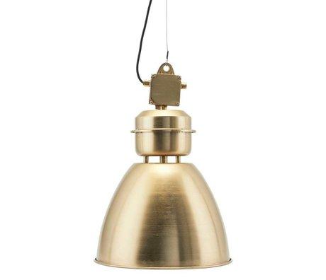Housedoctor Hanglamp Volumen brass goud metaal S Ø35x60cm
