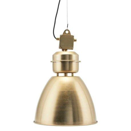 Housedoctor Hanging lamp Volumen brass gold metal S Ø35x60cm