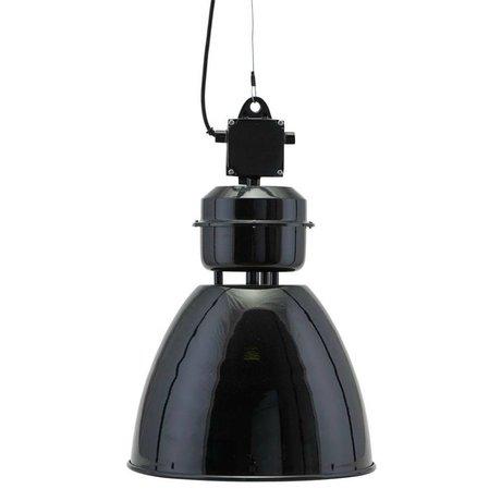 Housedoctor Hanglamp Volumen zwart metaal S Ø35x60cm